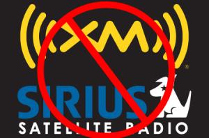 No Sirius XM